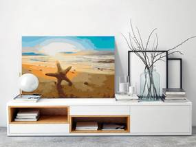 Murando DeLuxe Malování podle čísel(60x40 cm)