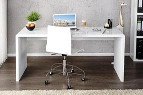 Písací stôl Fast Trade 120 cm biely