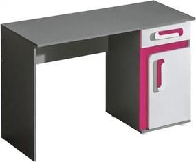 Najlacnejsinabytok Písací stôl Apetito A9, ružový