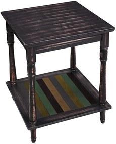 VASAGLE Odkladací stolík rustikálny 50x50 cm