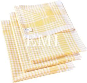 Utierky na riad žlté set 3 ks EMI