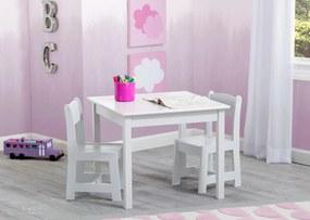 Delta Detský stôl so stoličkami biely white TT89601GN-026-EU