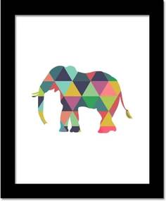 Walplus Obraz na plátne - Slon