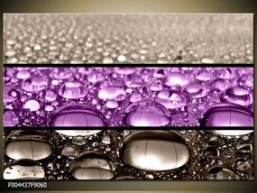 Obraz na plátne Kvapky vody, Obdĺžnik 90x60cm 60,8 €