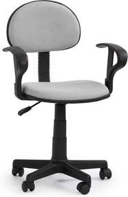 Halmar Detská stolička Alfred růžovo-černá