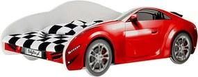 DO Chlapčenské postele Auto S-CAR červené