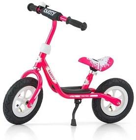 MILLY MALLY Nezaradené Detské odrážadlo bicykel Milly Mally Dusty pink 12