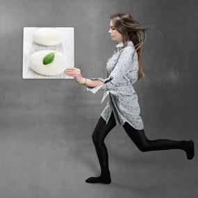 CARO Kovový obraz - Zen Stones 3 30x30 cm