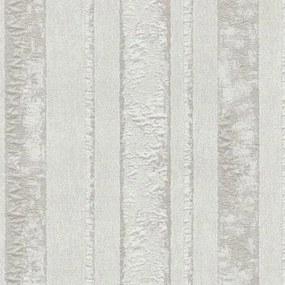 Vliesové tapety, pruhy hnedé, Studio Line 242440, P+S International, rozmer 10,05 m x 0,53 m