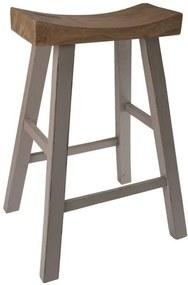 Drevená stolička industrial