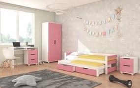 Zostava do detskej izby Lerwick - ružová