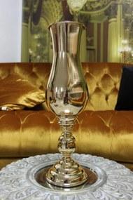 Zlatá luxusná váza 49 cm