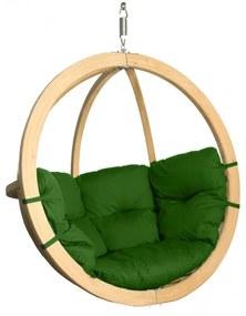 Hector Závěsné houpací křeslo O-Zone Swing Pod zelené