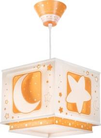 Dalber Detské závesné svietidlo Moon Orange EOL