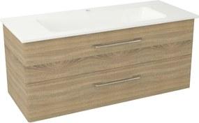 Pura PR127 umývadlová skrinka, 117x50,5x48,3 cm, dub starmood
