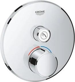 Termostat Grohe Smart Control bez podomietkového telesa chróm 29144000