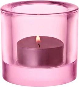 Svietnik Kivi, ružový Iittala