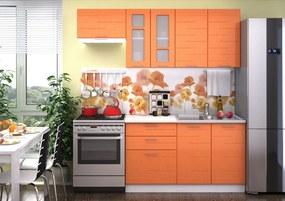 VerDesign, TEKNO 200, oranžový lesk