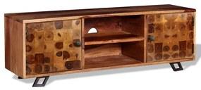 TV stolík z masívneho sheeshamového dreva, 120x30x40 cm