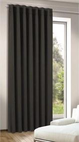 Albani Zatemňovací záves Tina čierna, 245 x 140 cm