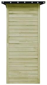 vidaXL Záhradná kôlňa, FSC impregnovaná borovica 100x100x210 cm