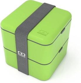 Zelený obedový box Monbento Square