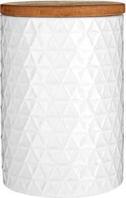 Dóza Premier Housewares White Tri Canister