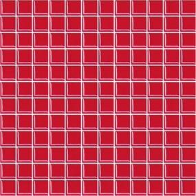 Sklenená mozaika Premium Mosaic červená 30x30 cm lesk MOS25RE