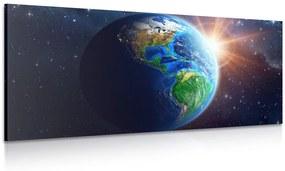 Obraz modrá planéta Zem