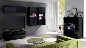 MEBLINE Moderná obývacia stena CALABRIA zostava 12