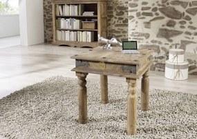 Bighome - CASTLE Konferenčný stolík 45x45 cm, palisander