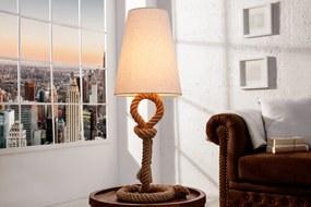Masiv24 - Stolná lampa SIVEN, 100 cm - béžová