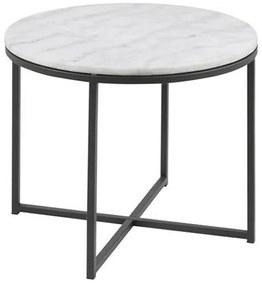 Cross R55 príručný stolík mramor/čierna