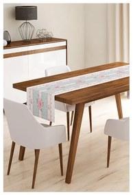 Behúň na stôl z mikrovlákna Minimalist Cushion Covers Romantic, 45 × 145 cm