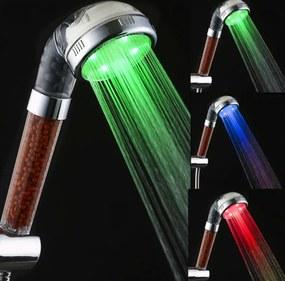 B2B Farebná svietiace LED sprcha s kamienkami V503