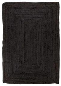 Bombay koberec 180x120 cm čierny