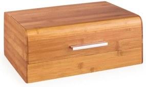 Klarstein Basket No. 9, bambusový chlebník s kovovou rúčkou, 7 l