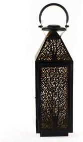 Kovový lampáš Dakls Max, výška 40 cm