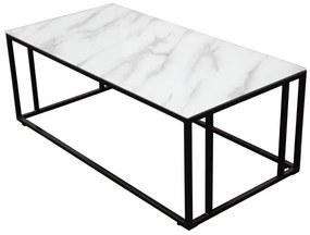 Rock konferenčný stolík 120x60 čierny