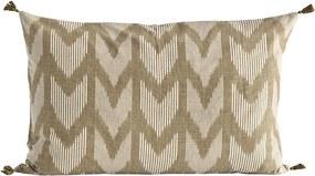 Tine K Home Bavlnená obliečka na vankúš Walnut 50x70cm