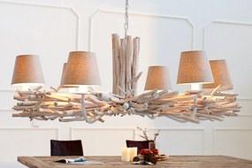 Masiv24 - Závesná lampa EUFORIA - béžová