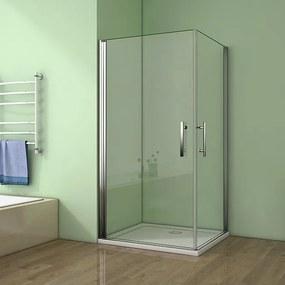Sprchovací kút MELODY A4 100 cm s dvoma jednokrídlovými dverami