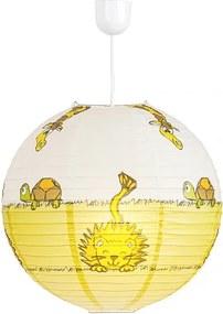 Rábalux 4633 Detské Závesné Lampy Leon viacfarebné plast - IP20