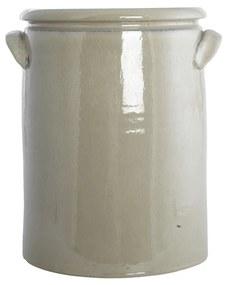 HOUSE DOCTOR Béžový kvetináč Pottery XL