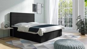 Americká posteľ boxspring Leith 120x200 cm