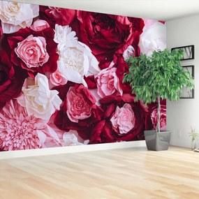 Fototapeta papierové ruže