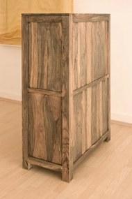 Masiv24 - GREY WOOD Príborník 148x90 cm, palisander