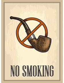 Ceduľa Restaurant - No Smoking