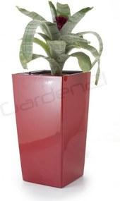Samozavlažovací kvetináč G21 Linea small červený 28cm