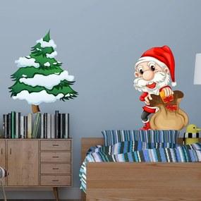 Vianočná samolepka Fanastick Pere Noel